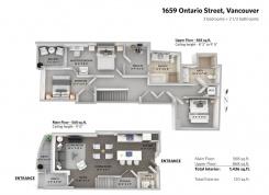 1659 ONTARIO STREET - Vancouver Westside North - False Creek