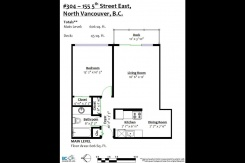 304 155 E 5 TH STREET - North Vancouver Central - Lower Lonsdale