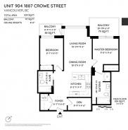 904 1887 CROWE STREET - Vancouver Westside North - False Creek