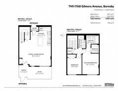 TH1 1768 GILMORE AVENUE - Burnaby North - Willingdon Heights