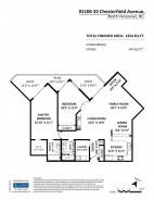 1106 33 CHESTERFIELD PLACE - North Vancouver Central - Lower Lonsdale