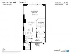 303 518 BEATTY STREET - Vancouver Downtown - Downtown VW