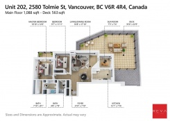 202 2580 TOLMIE STREET - Vancouver Westside North - Point Grey