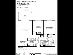 309 204 WESTHILL PLACE - Port Moody - College Park PM