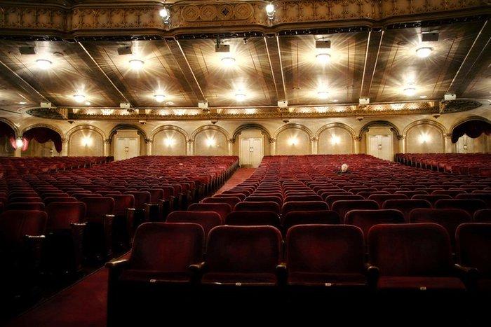 almost empty theatre small