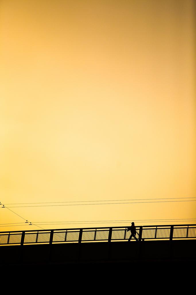 A walk across