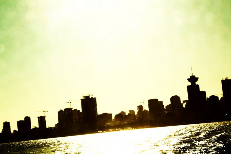 Silhouette of Vancouver