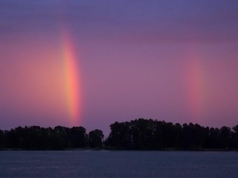 Doubled Rainbows!