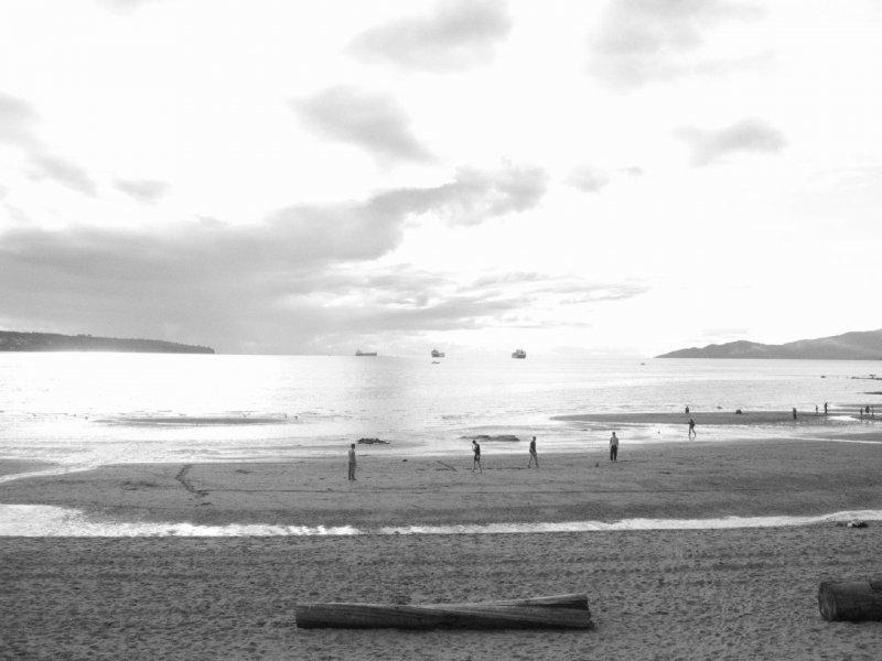 Enjoying Sea