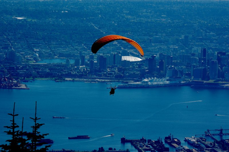Floating Over Vancouver