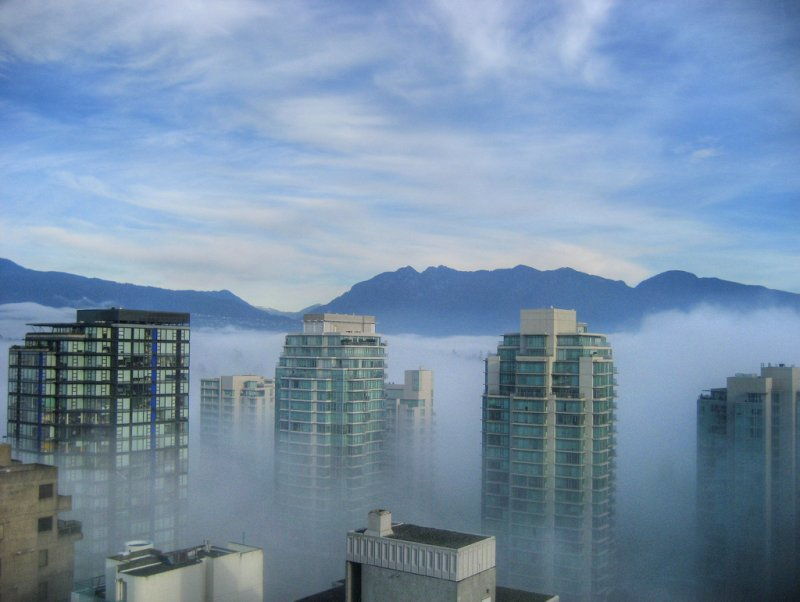 Fog in Morning Vancouver