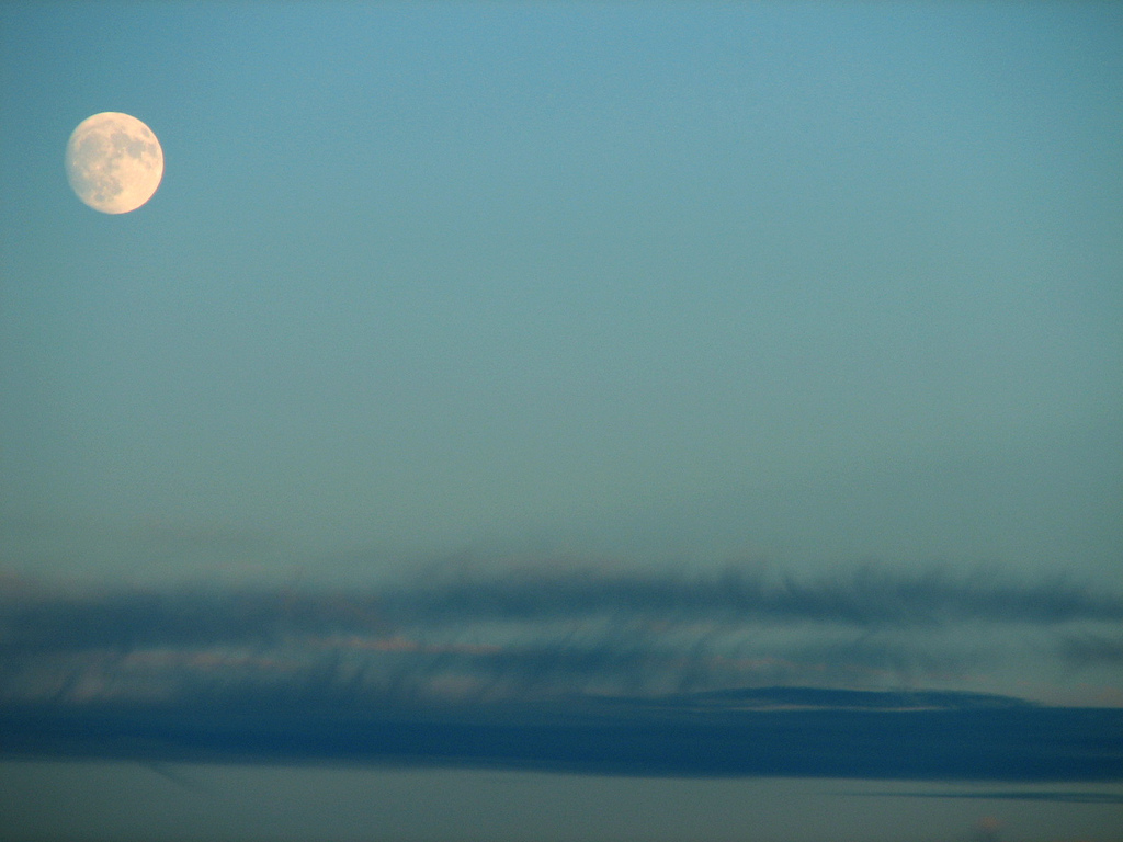 Moon from North Shore