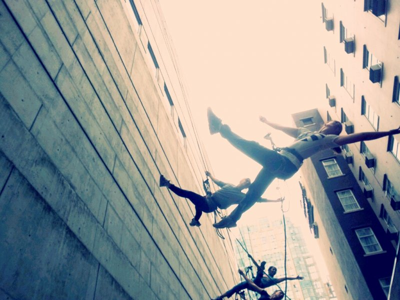 Repelling In Unision