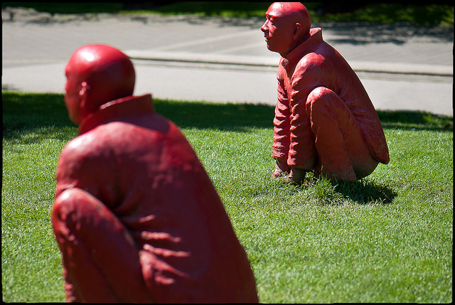 Wang Shugang's 'The Meeting' by Mike McHolm