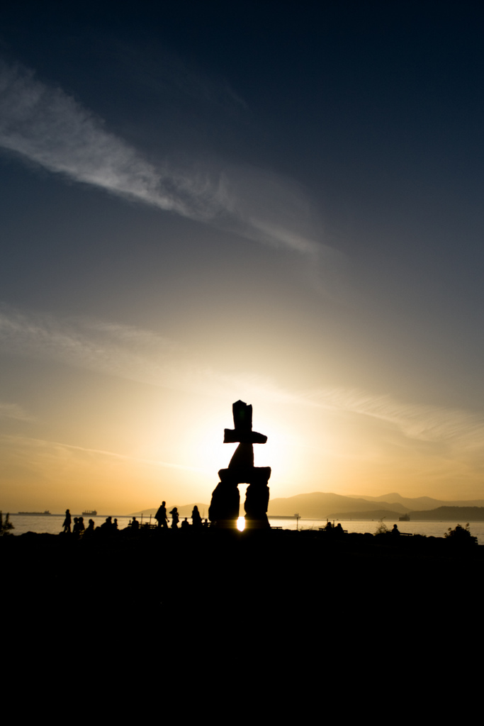 Statue at English Bay