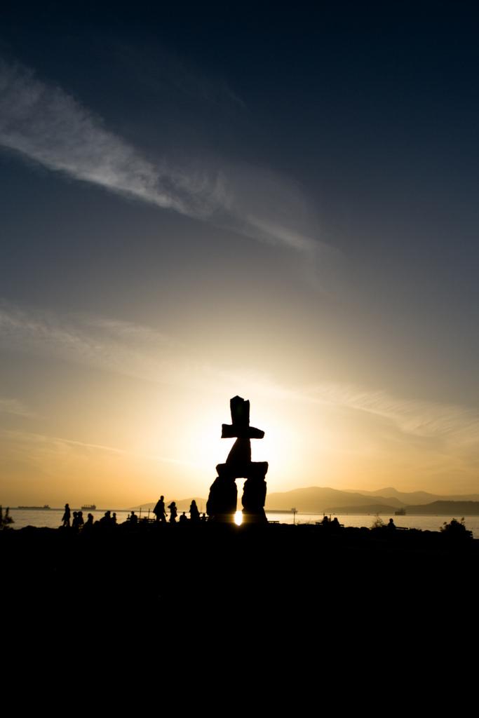 Statue at English Bay