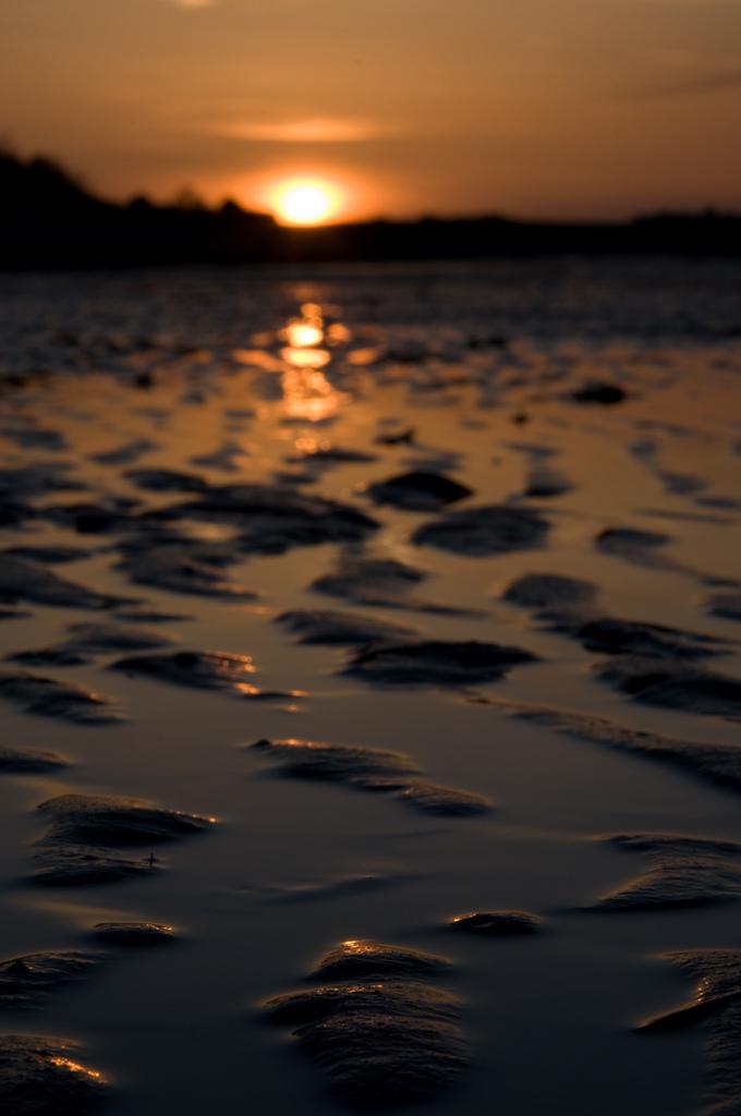 Sunset at Locarno Beach