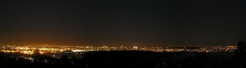 Vancouver night
