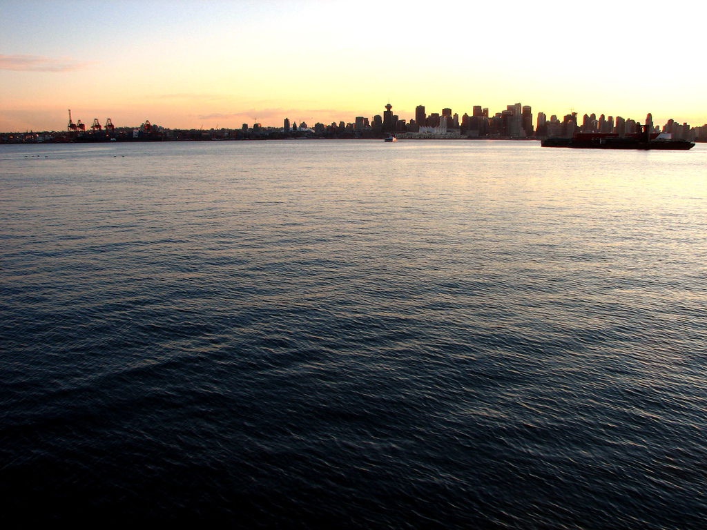 Vancouver silhouette