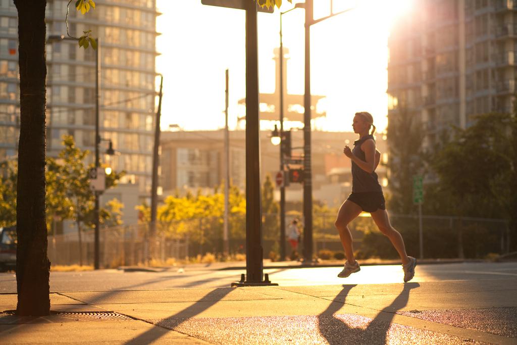 Yaletown Morning Run