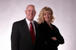 Bryce Gibney and Lynne Baker