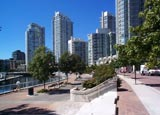 Marinaside and Yaletown condos