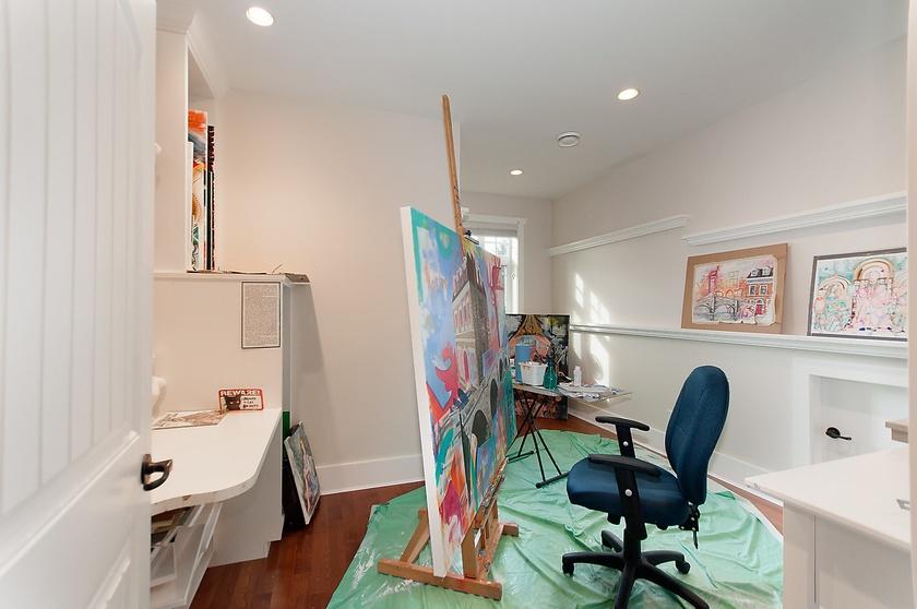 flex room upstairs