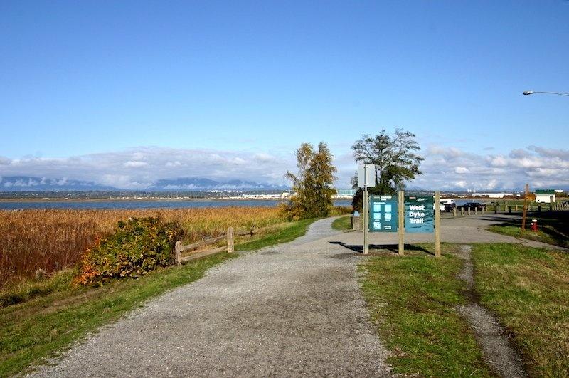 west dyke trail   terra nova park