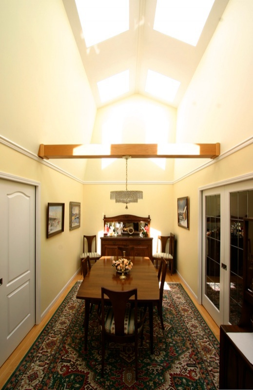 dining room with ceiling