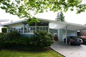 exterior and driveway