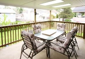 sundeck off kitchen