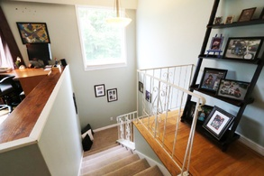 stairwell landing